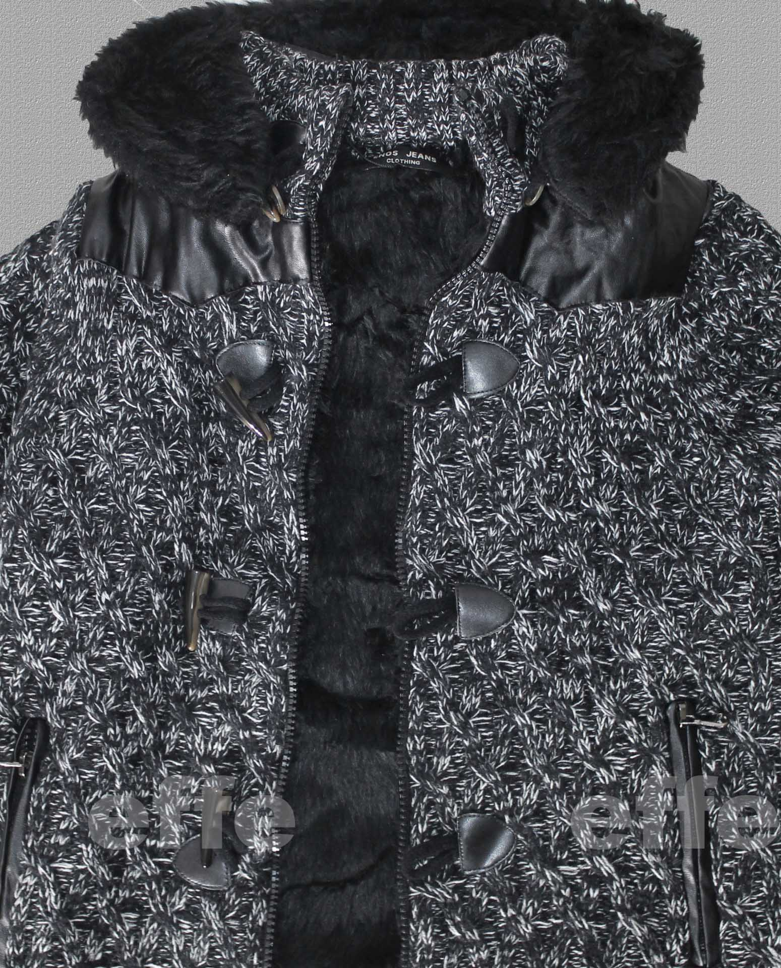 Dettagli su Cardigan Pullover uomo maglione con alamari felpa con cappuccio Giacca 1722