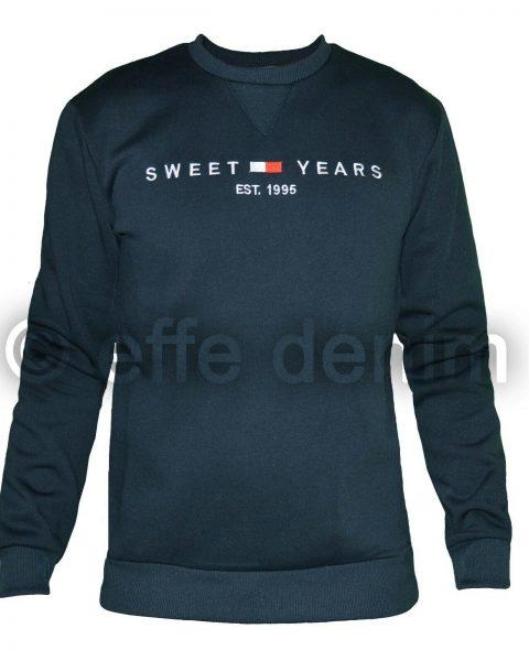 Felpa-Uomo-Sweet-Years-girocollo-maglione-casual-maglia-pullover-tuta-nuovo-4664-264470777751-2