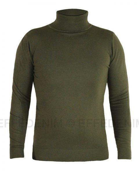Maglione-uomo-Collo-Alto-maglioncino-Dolcevita-maglia-pullover-slim-30211-effe-254449722437-2