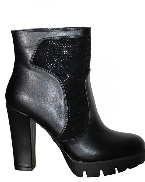 Stivaletti-donna-Stivali-scarpe-Tronchetti-con-strass-Plateau-nuovo-8671-252741898828-2